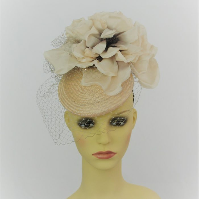 TARA hat by Feathers & Bows Couture Millinery